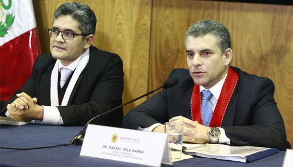 Perez tenía a su cargo, entre otras investigaciones, las que se siguen contra el ex presidente Alan García Pérez y el de la detenida lideresa de Fuerza Popular, Keiko Fujimori. (Foto: Agencia Andina)