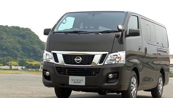Nissan llama a revisión a los NV350 Caravan en Perú