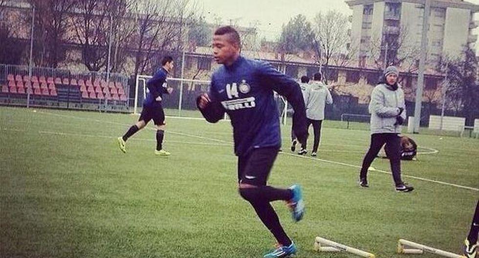 Andy Polo podría debutar mañana en el primer equipo del Inter - 2