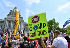 Coronavirus en Estados Unidos: Pensilvania impone el uso obligatorio de mascarillas