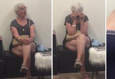 Abuela descubre que su nieto se hizo un tatuaje y su impensada reacción sorprende a usuarios