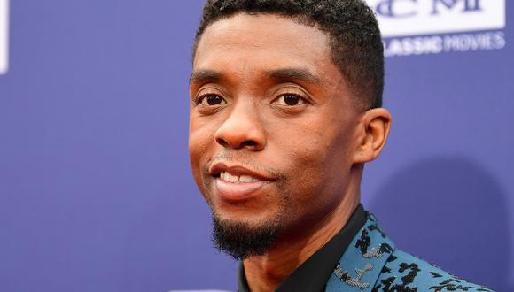 "Chadwick Boseman estuvo nominado por la película ""Ma Rainey's Black Bottom"" de Netflix. (Foto: Frederic J. Brown / AFP)"