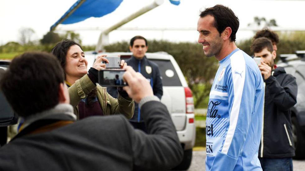Tabárez presente en práctica: Uruguay entrenó sin Luis Suárez - 7