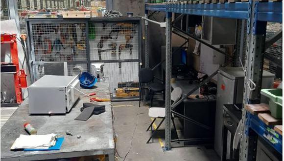 El accidente ocurrió este jueves cuando el joven identificado Víctor Ligarda Aguilar (27) reparaba un horno microondas. (Foto: Difusión)