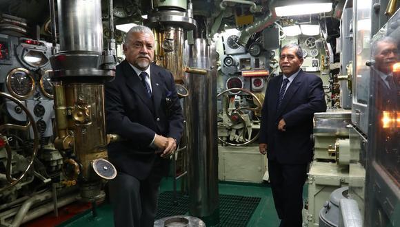 Franz Gómez y José Contreras, submarinistas que sobrevivieron al accidente del Pacocha. (Foto: Alessandro Currarino)