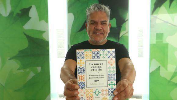 Con prólogo de Gastón Acurio, el chef José Del Castillo presenta este libro lleno de recuerdos de familia. (Foto: Alessandro Currarino / El Comercio)