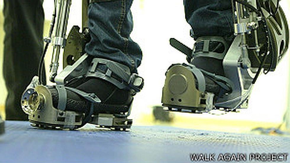 Exoesqueleto controlado por la mente que debutará en el Mundial - 3