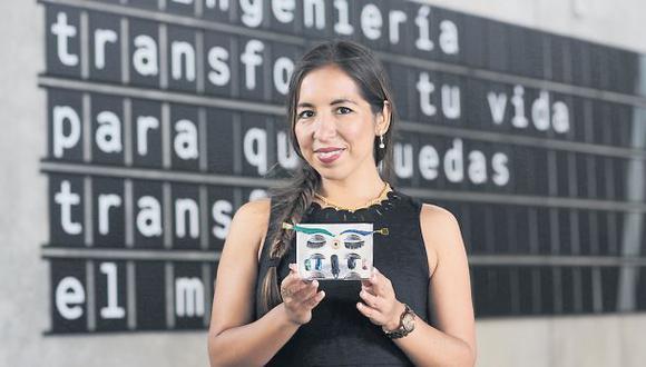 """""""Fue un gran honor recibir el premio del MIT. Alguien me postuló sin que yo supiera, me avisaron por correo y además recibí el premio Innovadora del 2016"""", cuenta Katia Cánepa."""