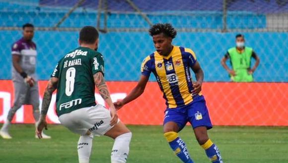 Delfín vs. Palmeiras EN VIVO EN DIRECTO ONLINE, se enfrentan este miércoles 25 de noviembre por la ida de los octavos de final de la Copa Libertadores. Aquí los detalles del partido. (Foto: Delfín Twitter)