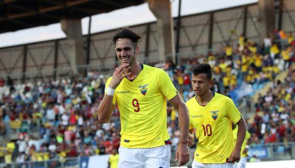 El Teniente de Racangua fue escenario de la gran victoria tricolor, pese a jugar con un hombre menos en la segunda mitad. Si Argentina cae ante Brasil, Ecuador será campeón del torneo. (Foto: Conmebol)