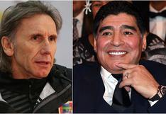 Gareca y Maradona: ¿Cómo fue la historia del reloj de oro que el 10 le regaló?