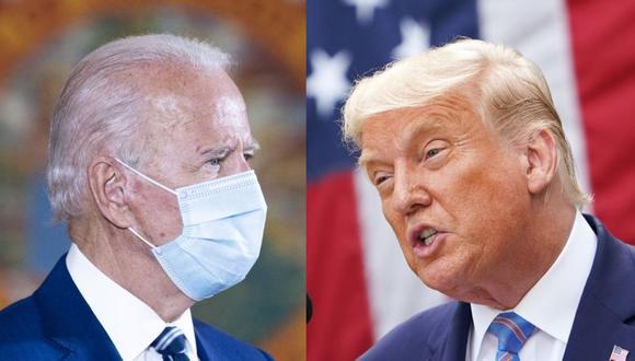Joe Biden y Donald Trump están intensificando sus campañas en los estados claves de Estados Unidos. (AFP).