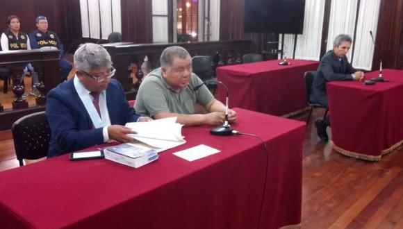 Suspendido juez Ricardo Chang Racuay, implicado en los CNM Audios, fue detenido ayer (Foto: Poder Judicial)