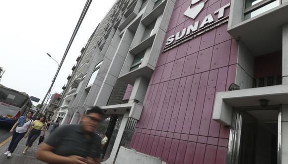 La Superintendencia Nacional de Aduanas y de Administración Tributaria (Sunat).