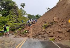 Madre de Dios: derrumbe bloquea vía Cusco – Puerto Maldonado