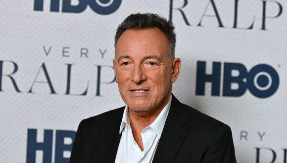 Bruce Springsteen realizará concierto desde su casa. (Foto: AFP)