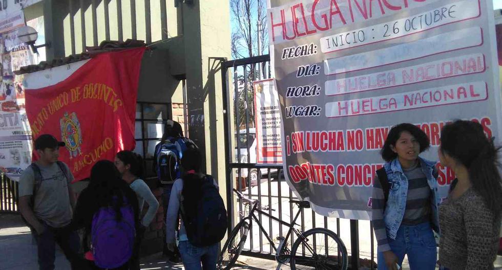 Ayacucho: huelguistas toman la Universidad Nacional de Huamanga - 2