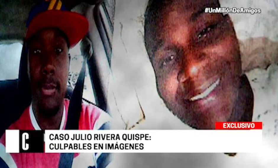 Ellos son los principales sospechosos del crimen de Julio Rivera Quispe, sobrino de Paolo Guerrero. (Cuarto Poder)