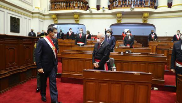 El presidente Martín Vizcarra tendrá que nombrar al sucesor de Pedro Cateriano. (Presidencia Perú)