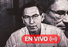 Martín Vizcarra EN VIVO | Noticias y minuto a minuto del debate de la vacancia en el Congreso