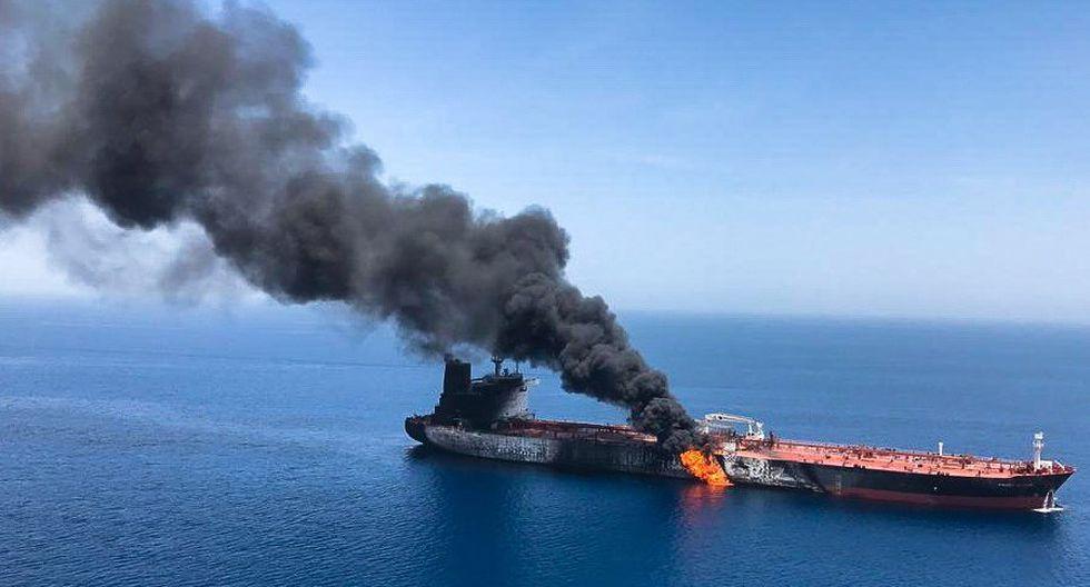 Golfo de Omán: ¿Impactará el ataque a los petroleros en el precio de los combustibles en el Perú? Foto: EFE