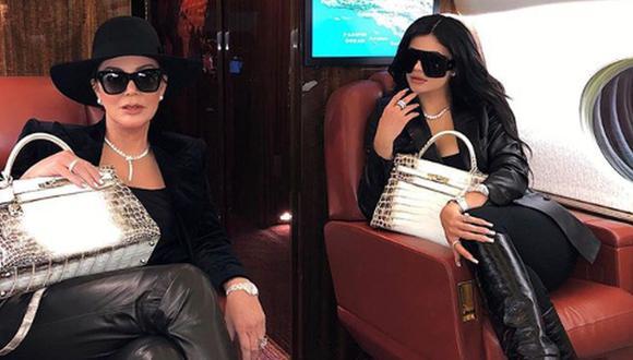 Kylie Jenner viajó junto a varios integrantes de su famosa familia para celebrar el cumpleaños de su sobrina Dream Kardashian. (Foto: Instagram)