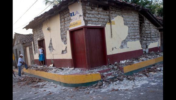 Terremoto de más de 6 grados vuelve a remecer Nicaragua