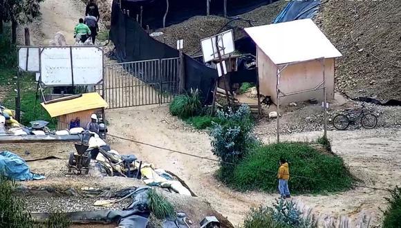 La Libertad: los cadáveres aún no han sido retirados de la zona, debido a que estarían a varios metros de profundidad. (Foto: Difusión)
