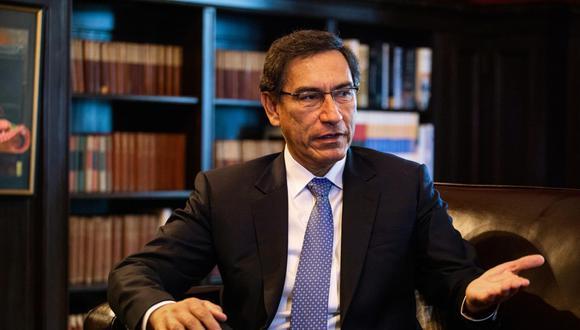 Martín Vizcarra también señaló que otra meta de su gobierno para el 2020 es culminar con la reforma política. (Foto: Bloomberg)