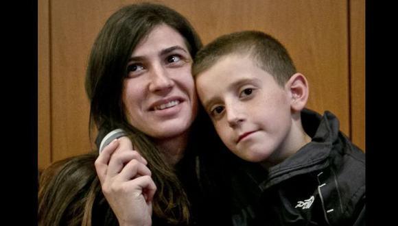El niño que fue rescatado de las garras del Estado Islámico