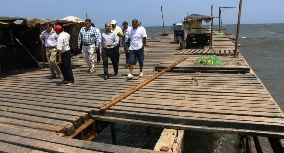 Advierten alto riesgo en antiguo muelle de Puerto Eten [FOTOS] - 3