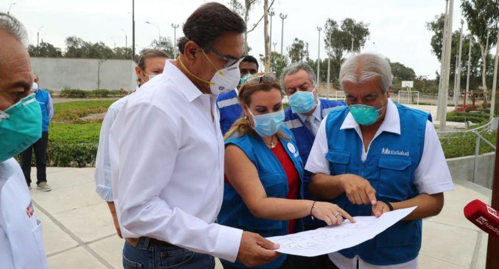 Las divisiones se han tomado una tregua para juntos enfrentarnos al enemigo común que viene en forma de virus.. (Foto: Presidencia Perú)