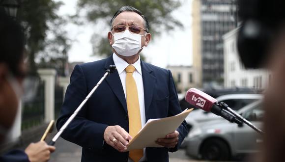 Edgar Alarcón indicó que si el expresidente Martín Vizcarra no acude a una segunda citación, se le puede invitar de grado o fuerza. (Foto: GEC)