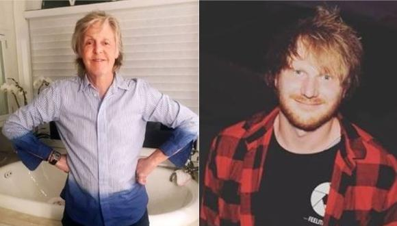 Paul McCartney, los Rolling Stones y Ed Sheeran, piden apoyo a la industria musical (Foto: Instagram)
