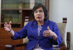 Marianella Ledesma lamenta que no se haya aprobado eliminar inmunidad parlamentaria