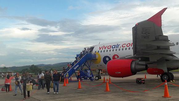 Viva Air Perú buscará sumar este año dos nuevos aviones a su flota actual para atender la demanda de pasajeros. (Foto: El Comercio)