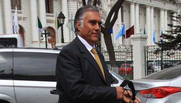 """""""Se ha rechazado el pedido de la fiscalía, no tenia ni pies ni cabeza"""", dijo Francisco Boza. (Foto referencial: Archivo El Comercio)"""