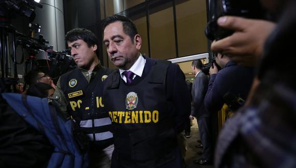 Cavassa cumple prisión preventiva en el penal Piedras Gordas. (Foto: El Comercio)