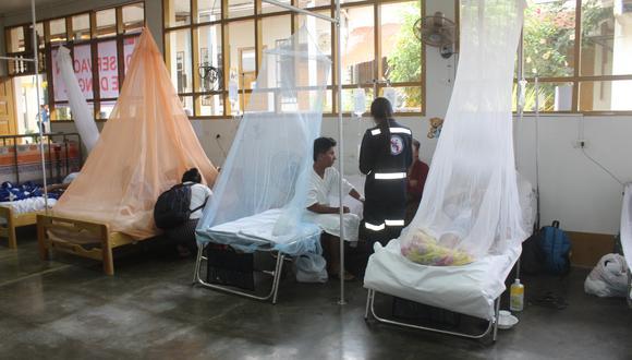 Ejecutivo transfiere más de 18 millones de soles para fortalecer respuesta de regiones contra el dengue en el marco de la emergencia sanitaria del COVOD-19. (foto referencial)