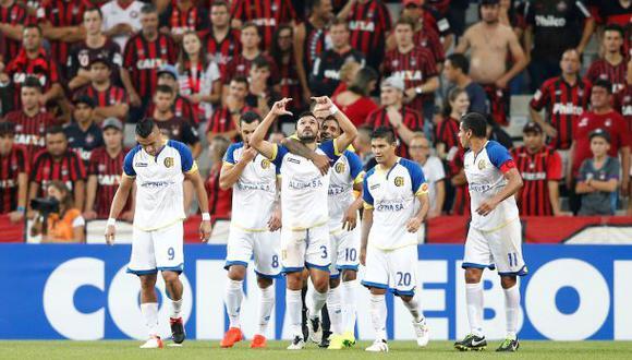 Capiatá igualó 3-3 ante Atlético Paranaense por Libertadores