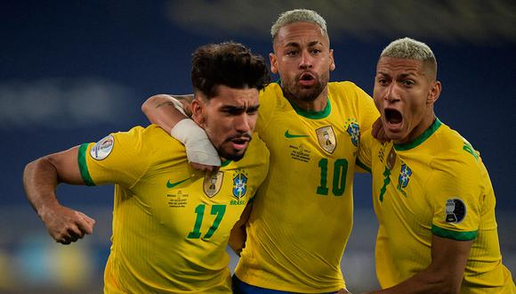 Brasil vs. Argentina: Con Neymar, el posible once de Tite para la final de la Copa América 2021   Foto: AFP