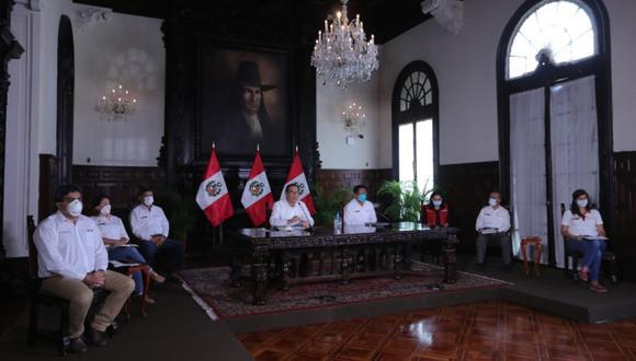 """""""El problema crucial es el de millones de peruanos al borde de la inanición"""". (Foto: Presidencia Perú)"""
