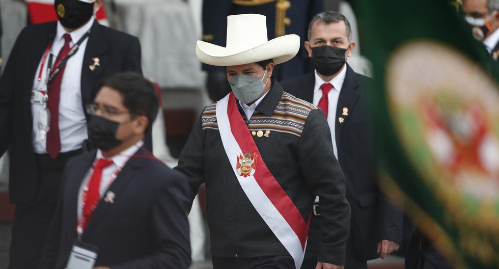 El presidente del Perú, Pedro Castillo. EFE