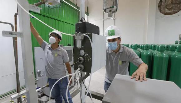 Con la adquisición de estas cuatro nuevas plantas generadoras de oxígeno medicinal, Ayacucho contaría con 10 plantas en toda la región (Foto: Archivo GEC /  EFE/Luis Angel Gonzales)