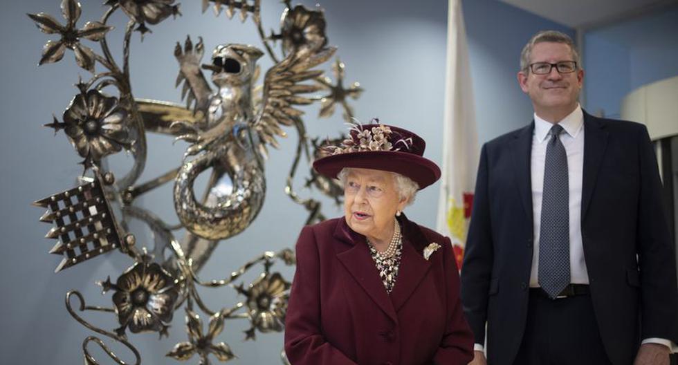 El 25 de febrero del 2020, la reina Isabel II visitó la sede del MI5 en el centro de Londres y tuvo a Andrew Parker como su anfitrión. (Foto: Getty Images)