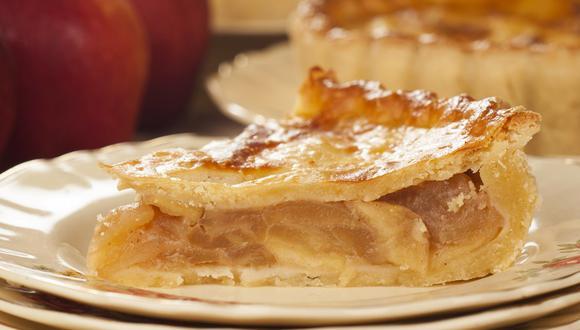 Pie de manzana. (Foto: Shutterstock)