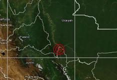 Ucayali: sismo de magnitud 4,2 se reportó en Atalaya, señala IGP