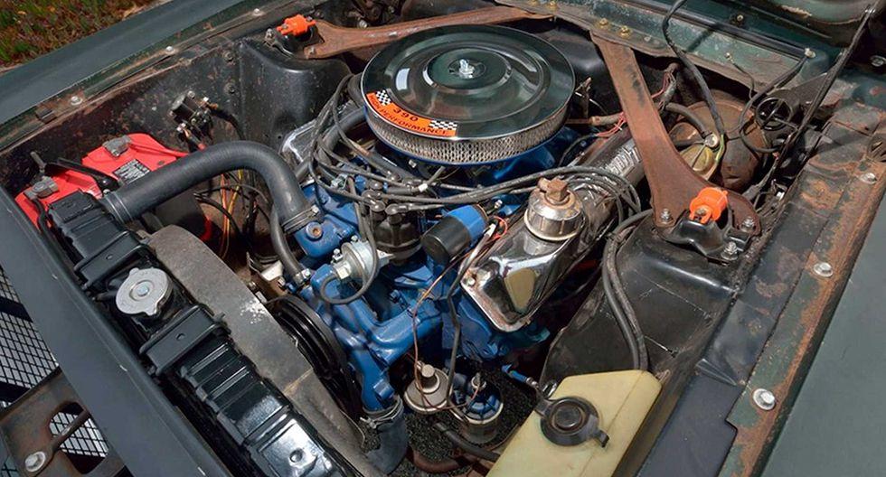 El Ford Mustang GT de la película Bullitt se ha convertido en el Mustang más caro subastado en la historia.