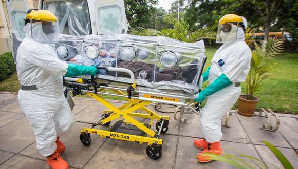 """El especialista Leonid Lecca remarcó que el nuevo coronavirus es """"altamente contagioso"""" y que la fase en la que se encuentra Perú """"es crítica"""". (Foto: GEC/Cesar Zamalloa)"""