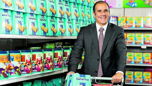 D'Onofrio, de Nestlé, ocupó el segundo lugar con 30% de preferencia. (Foto: El Comercio)